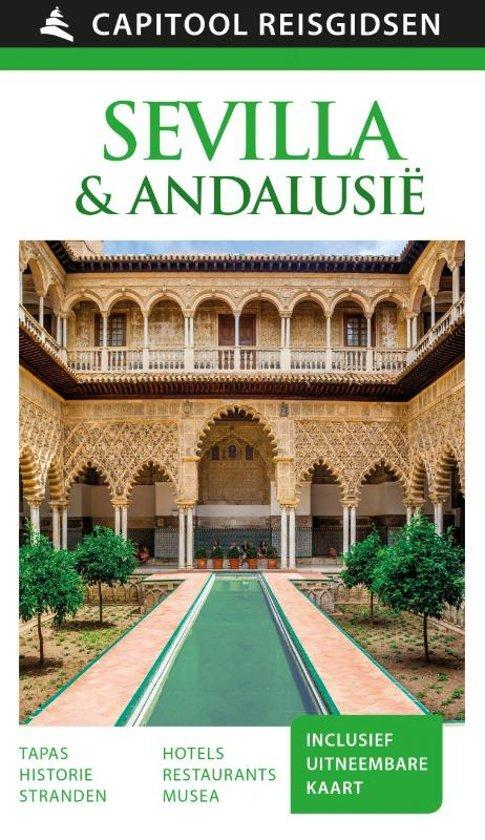 Capitool Sevilla & Andalusië 9789000366149  Unieboek Capitool Reisgidsen  Reisgidsen Andalusië, Sevilla