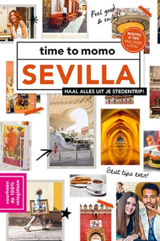 Time to Momo Sevilla (100%) 9789057679469  Mo Media Time to Momo  Reisgidsen Sevilla