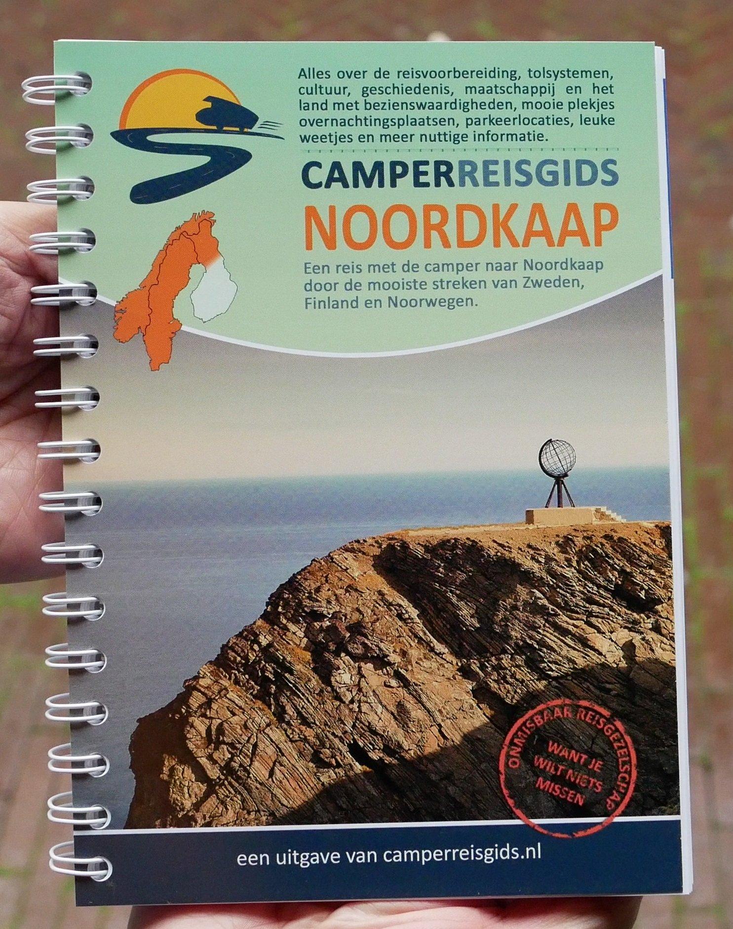 Camperreisgids Noordkaap 9789082077865 Rob Smits Rob Smits   Campinggidsen, Op reis met je camper, Reisgidsen Scandinavië & de Baltische Staten