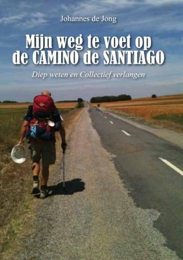 Mijn weg te voet op de Camino de Santiago | Johannes de Jong 9789463893206 Johannes de Jong Boekscout   Wandelgidsen, Santiago de Compostela Europa
