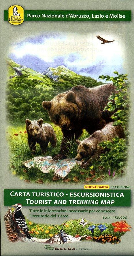 Parco Nazionale d'Abruzzo 1:50.000 CM087  Edizione S.E.L.C.A   Wandelkaarten Rome, Abruzzen
