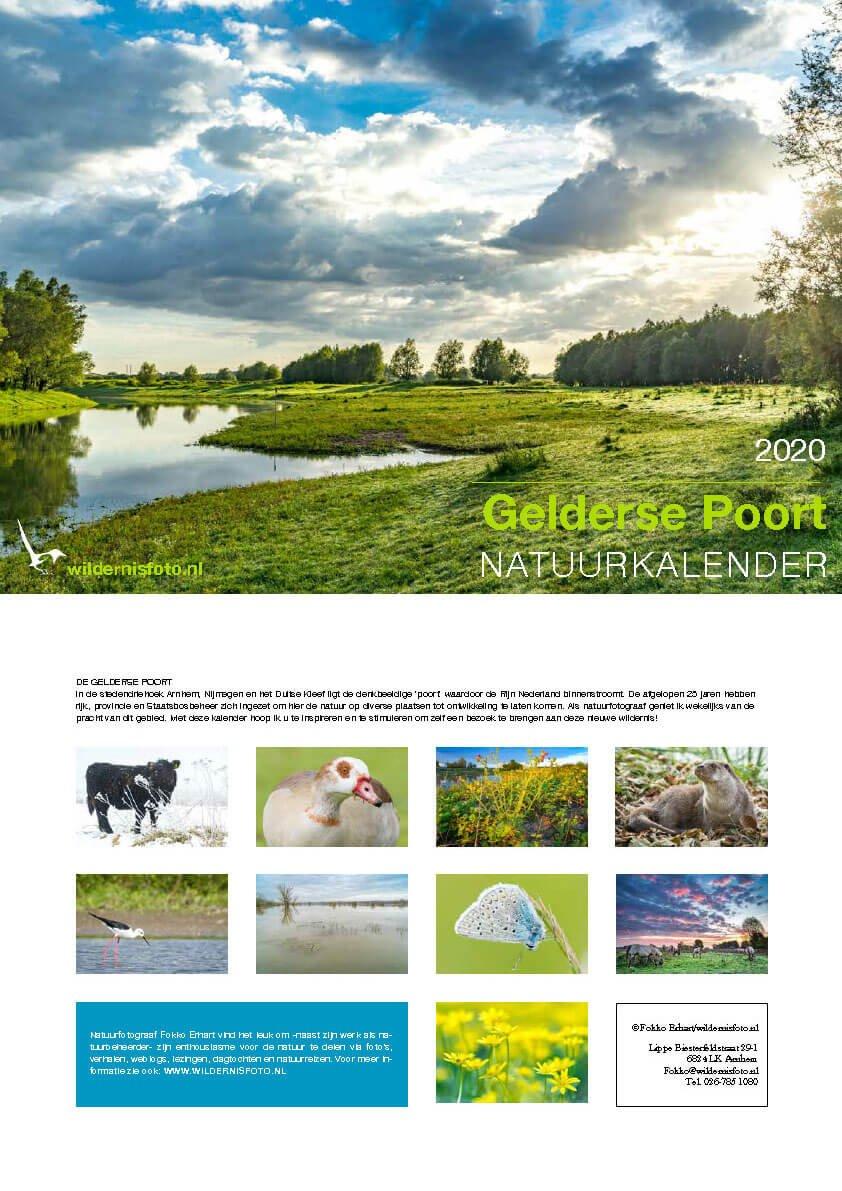 Natuurkalender 2020 Gelderse Poort | Fokko Erhart KAL2020FE Fokko Erhart Wildernisfoto Kalenders 2020  Cadeau-artikelen, Kalenders Reisinformatie algemeen