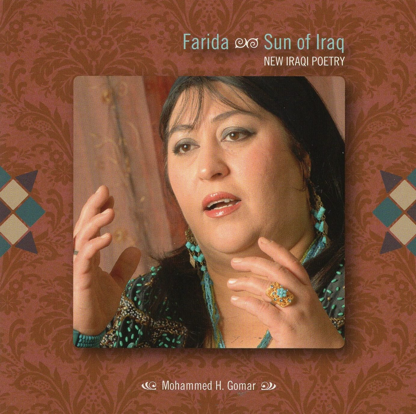 Farida: Sun of Iraq MWCD 5018 Farida Music & Words World Music CD  Muziek Syrië, Libanon, Jordanië, Irak