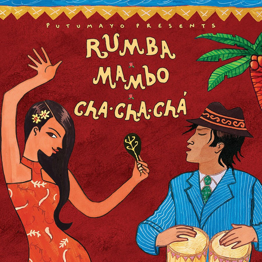 Rumba, Mambo, Cha Cha Cha PUTU 308  Putumayo World Music CD  Muziek Caribisch Gebied