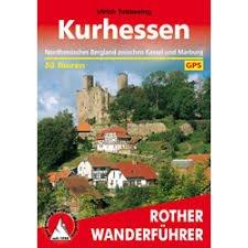 Kurhessen | Rother Wanderführer (wandelgids) * RWFKURHESSEN  Bergverlag Rother RWG  Wandelgidsen Hessen