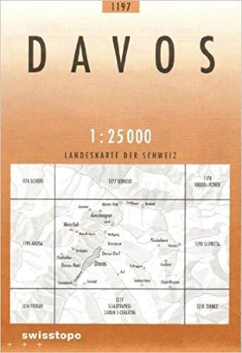 CH-1197  Davos [2011] topografische wandelkaart 9783302011974  Bundesamt / Swisstopo LKS 1:25.000  Wandelkaarten Graubünden, Tessin