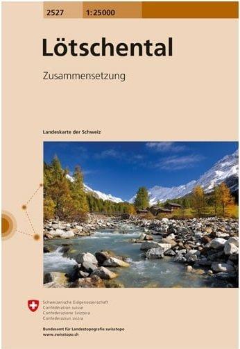 CH-2527 Lötschental [2013] 9783302025278  Bundesamt / Swisstopo LKS 1:25.000 Zusammensetzung  Wandelkaarten Wallis