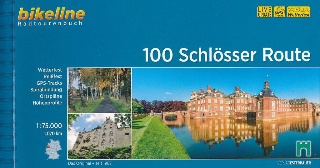 Bikeline 100 Schlösser im Münsterland | fietsgids 9783850000475  Esterbauer Bikeline  Fietsgidsen Sauerland, Münsterland, Teutoburger Wald