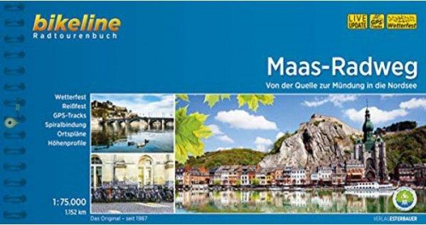 Bikeline Maas-Radweg 9783850008143  Esterbauer Bikeline  Fietsgidsen Europa