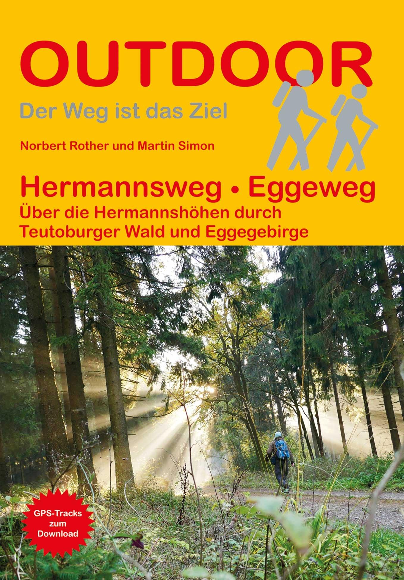 Hermannsweg - Eggeweg | wandelgids (Duitstalig) 9783866866218  Conrad Stein Verlag Outdoor - Der Weg ist das Ziel  Meerdaagse wandelroutes, Wandelgidsen Sauerland, Münsterland, Teutoburger Wald