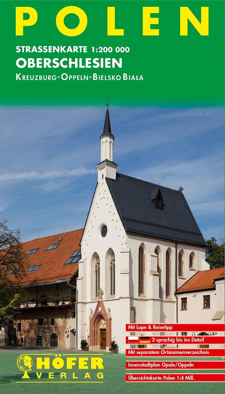 PL-007 Oberschlesien 1:200.000 9783931103903  Höfer Verlag   Landkaarten en wegenkaarten Polen