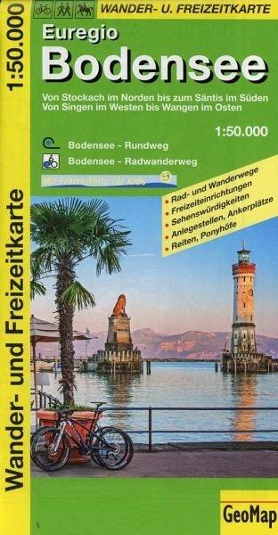 Bodensee 1:50.000 9783933671189  GeoMap   Wandelkaarten Bodenmeer, Schwäbische Alb