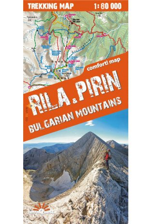 Rila, Pirin 1:80.000 9788361155591  TerraQuest   Wandelkaarten Bulgarije