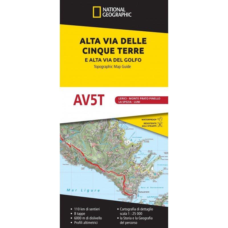 Alta Via delle Cinque Terre 9788869853210  National Geographic   Meerdaagse wandelroutes, Wandelgidsen, Wandelkaarten Ligurië, Piemonte, Lombardije