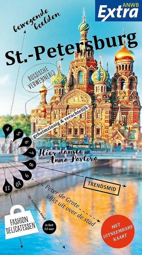 ANWB Extra reisgids St.Petersburg 9789018045357  ANWB ANWB Extra reisgidsjes  Reisgidsen Europees Rusland