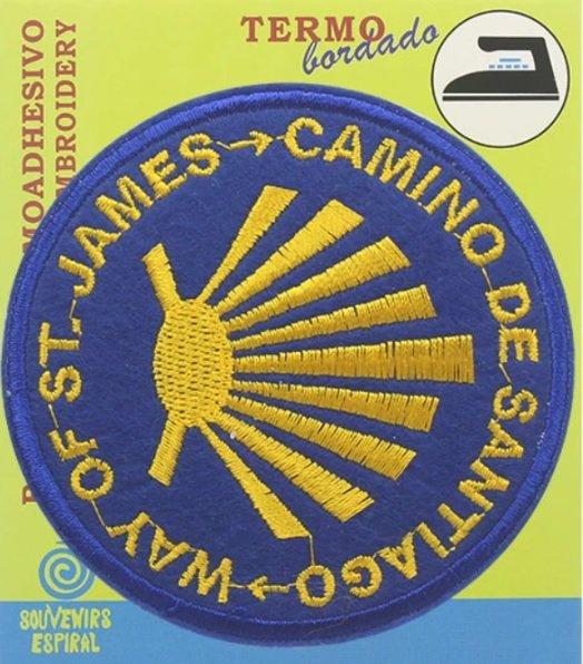 Buen Camino badge BCB  Sint Christoffel   Reisgidsen, Santiago de Compostela Europa