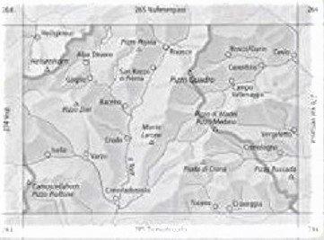CH275  Valle Antigorio [2008] CH275  Bundesamt Normalblatt 1:50.000  Wandelkaarten Graubünden, Tessin
