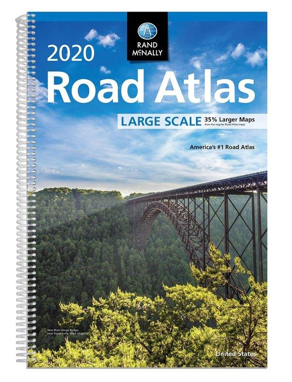 Road Atlas 2020 United States, Large Scale 9780528021046  Rand McNally Wegenatlassen  Wegenatlassen Verenigde Staten
