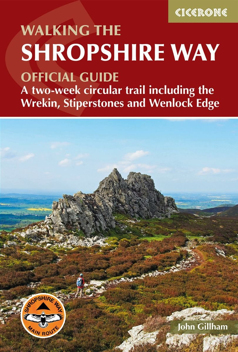 Walking the Shropshire Way | wandelgids 9781786310088 John Gillham Cicerone Press   Meerdaagse wandelroutes, Wandelgidsen Midlands, Cotswolds, Oxford