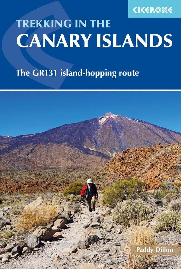 Trekking in the Canary Islands (wandelgids GR-131) 9781852847654 Paddy Dillon Cicerone Press   Wandelgidsen, Meerdaagse wandelroutes Canarische Eilanden