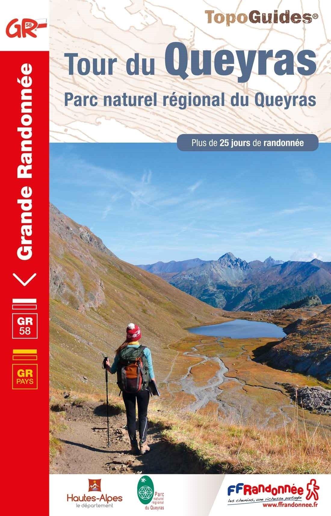 TG505  Tour du Queyras, GR-58 9782751403132  FFRP Topoguides  Meerdaagse wandelroutes, Wandelgidsen tussen Valence, Briançon, Camargue en Nice