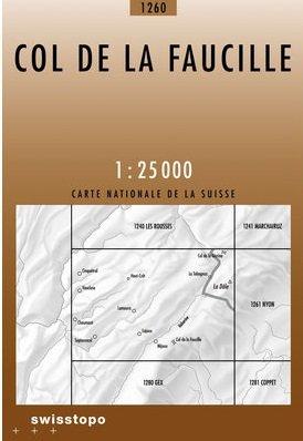 CH-1260 Col de la Faucille [2006] topografische wandelkaart 9783302012605  Bundesamt / Swisstopo LKS 1:25.000  Wandelkaarten Berner Oberland, Basel, Jura, Genève