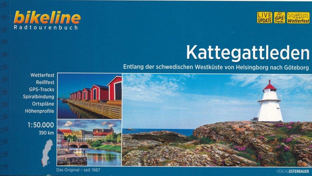 Bikeline Kattegattleden 9783850007160  Esterbauer Bikeline  Fietsgidsen Zuid-Zweden