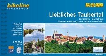Bikeline Liebliches Taubertal | fietsgids 9783850008112  Esterbauer Bikeline  Fietsgidsen Franken, Nürnberg, Altmühltal