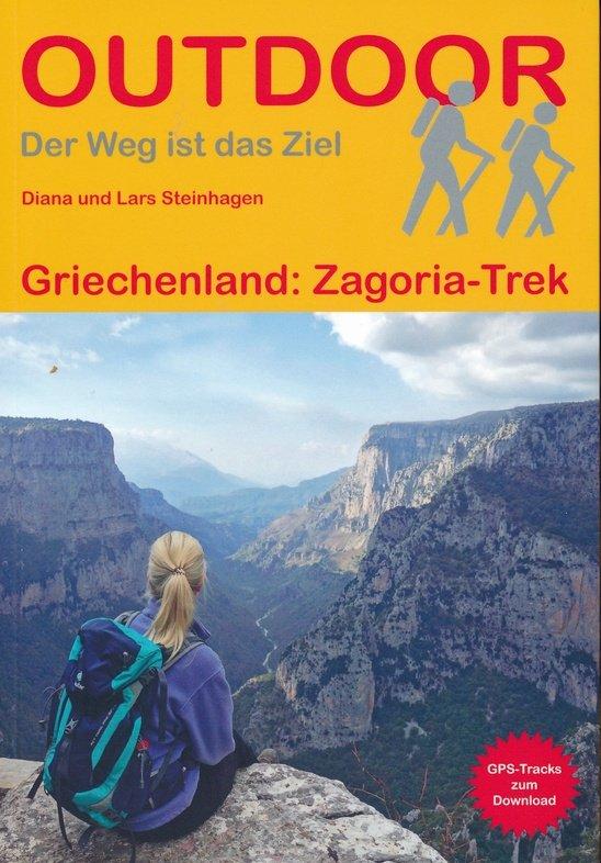 Zagoria Trek | wandelgids (Duitstalig) 9783866866102  Conrad Stein Verlag Outdoor - Der Weg ist das Ziel  Wandelgidsen Midden en Noord-Griekenland, Athene