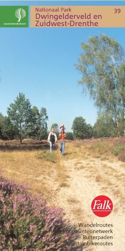 SBB-39 Dwingelderveld / Ruinen 9789028700598  Staatsbosbeheer SBB kaart 1:25.000  Wandelkaarten Drenthe