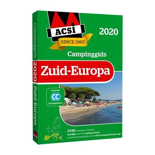 ACSI campinggids Zuid Europa 2020+ app) 9789492023889  ACSI   Campinggidsen Zuid-Europa / Middellandse Zee