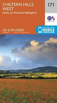 EXP-171 Chiltern Hills West | topografische wandelkaart 1:25.000 9780319243640  Ordnance Survey Explorer Maps 1:25t.  Wandelkaarten Zuidoost-Engeland