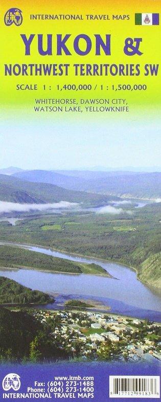 Yukon   landkaart, autokaart 1:1.000.000 9781771299183  ITM   Landkaarten en wegenkaarten West-Canada, Rockies