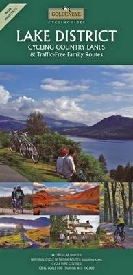 Lake District Cycling Map 1:100.000 9781859651841  Goldeneye   Fietskaarten Lake District