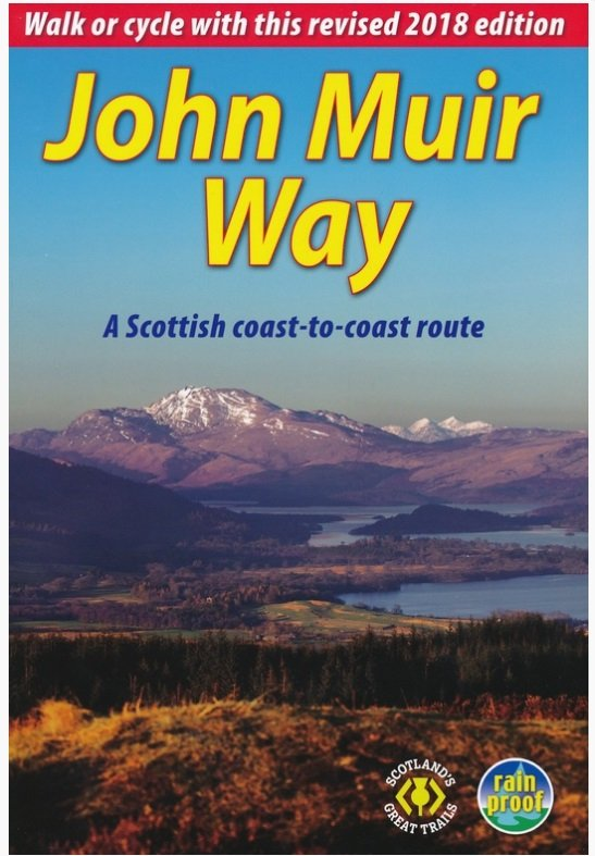 John Muir Way 9781898481836  Rucksack Readers   Meerdaagse wandelroutes, Wandelgidsen Schotland