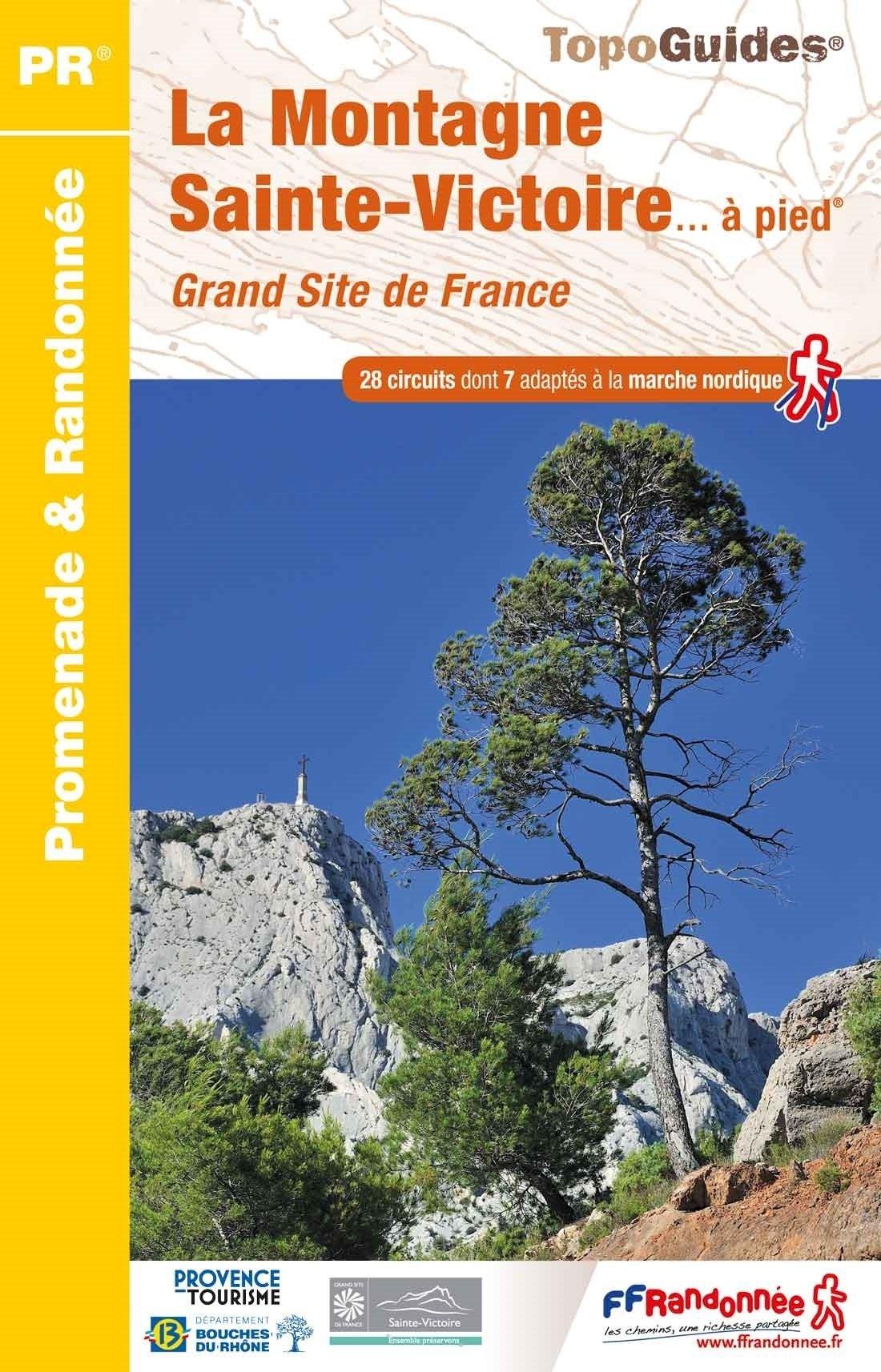 P131 La Montagne Sainte-Victoire | wandelgids 9782751410338  FFRP Topoguides  Wandelgidsen tussen Valence, Briançon, Camargue en Nice