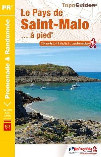 P351  le Pays de Saint-Malo... à pied 9782751410369  FFRP Topoguides  Wandelgidsen Normandië