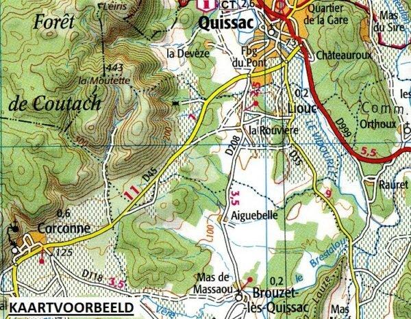 SV-167  Pau, Tarbes | omgevingskaart / fietskaart 1:100.000 9782758547754  IGN Série Verte 1:100.000  Fietskaarten, Landkaarten en wegenkaarten Franse Pyreneeën