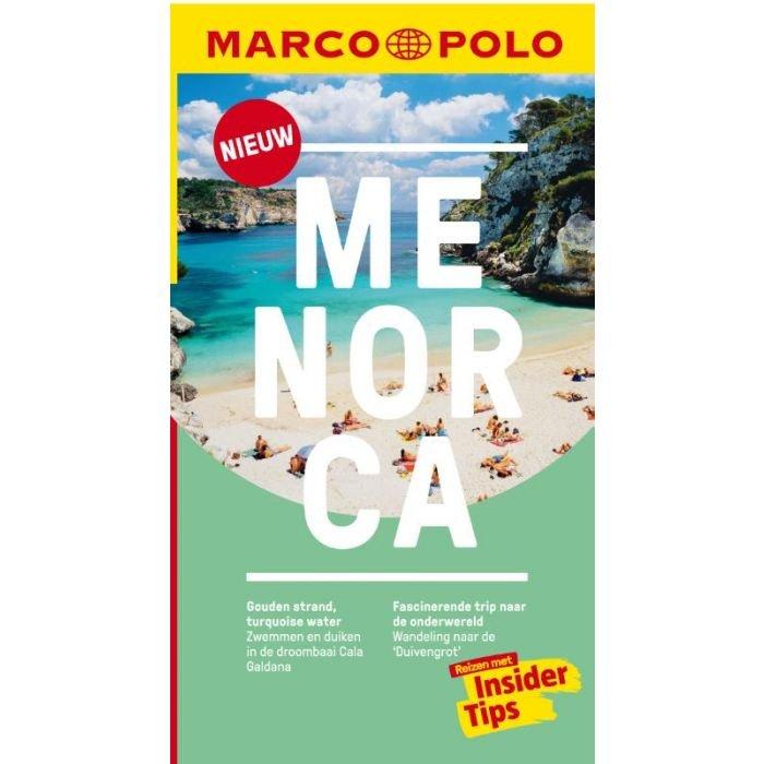 Menorca 9783829758413  Marco Polo MP reisgidsjes  Reisgidsen Menorca