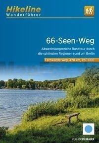 66-Seen-Wanderweg | Hikeline Wanderführer (wandelgids) 9783850007603  Esterbauer Hikeline wandelgidsen  Meerdaagse wandelroutes, Wandelgidsen Berlijn, Brandenburg & Sachsen-Anhalt