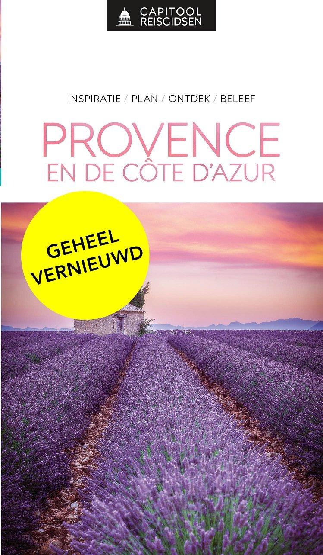 Capitool Provence & Cote d Azur 9789000369072  Unieboek Capitool Reisgidsen  Reisgidsen tussen Valence, Briançon, Camargue en Nice