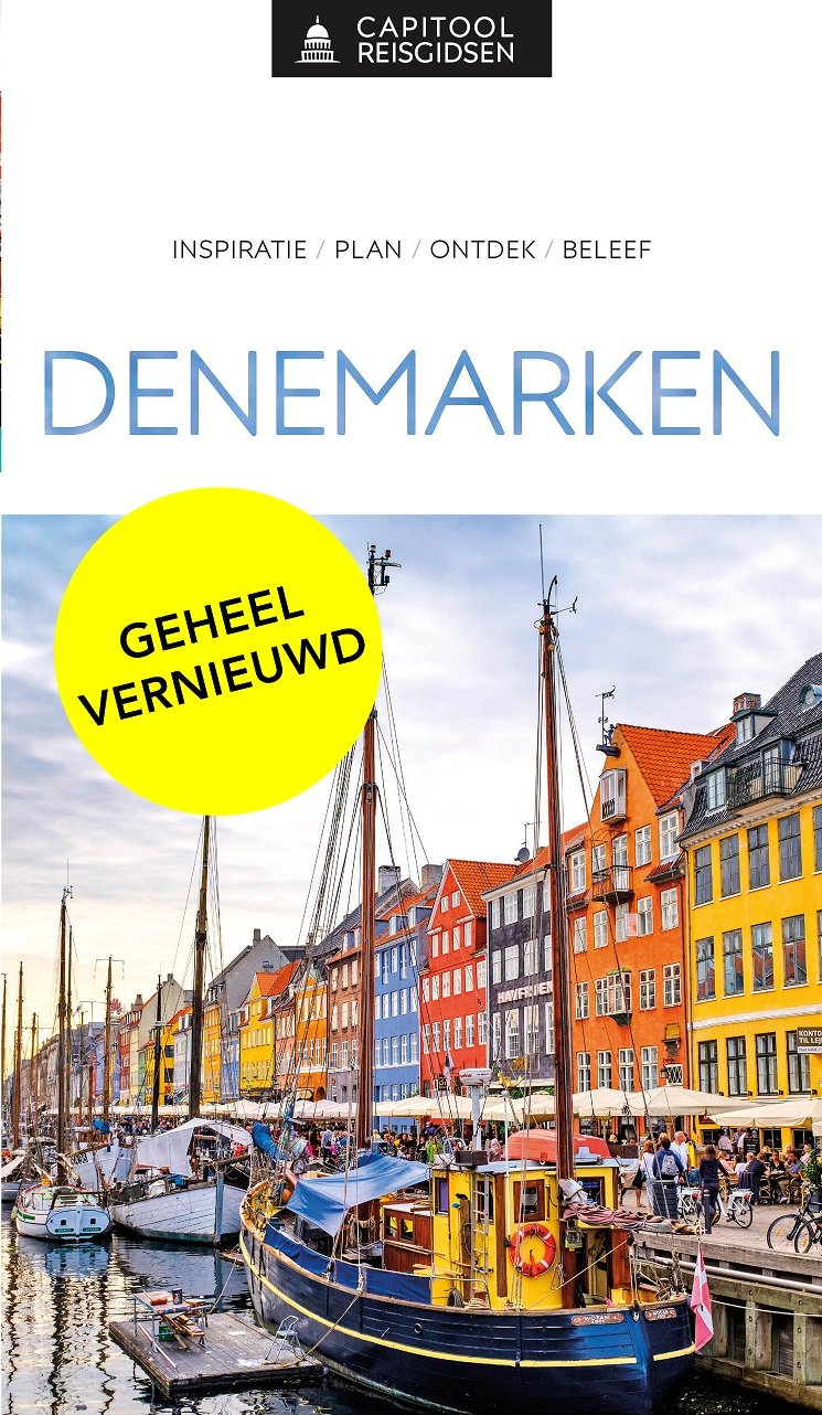 Capitool Denemarken 9789000369119  Unieboek Capitool Reisgidsen  Reisgidsen Denemarken