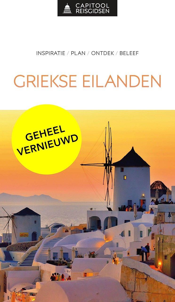 Capitool Griekse Eilanden 9789000369133 Dubin Unieboek Capitool Reisgidsen  Reisgidsen Egeïsche Eilanden