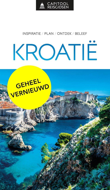 Capitool Kroatie 9789000369164  Unieboek Capitool Reisgidsen  Reisgidsen Kroatië