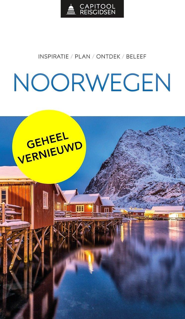 Capitool Noorwegen 9789000369195  Unieboek Capitool Reisgidsen  Reisgidsen Noorwegen