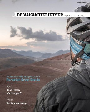De Wereldfietser | 2020 / 1 WF20A  De Wereldfietser Tijdschriften  Fietsgidsen Wereld als geheel