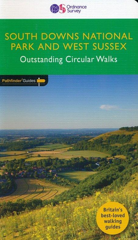 PG-66 West Sussex & the South Downs Walks | wandelgids 9780319091746  Crimson Publishing / Ordnance Survey Pathfinder Guides  Wandelgidsen Zuidoost-Engeland, Kent, Sussex, Isle of Wight