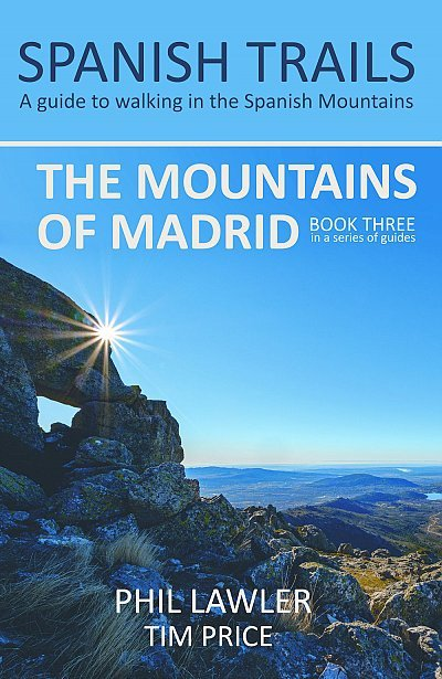 The Mountains of Madrid | wandelgids 9780995579729  Spanish Trails   Wandelgidsen Madrid