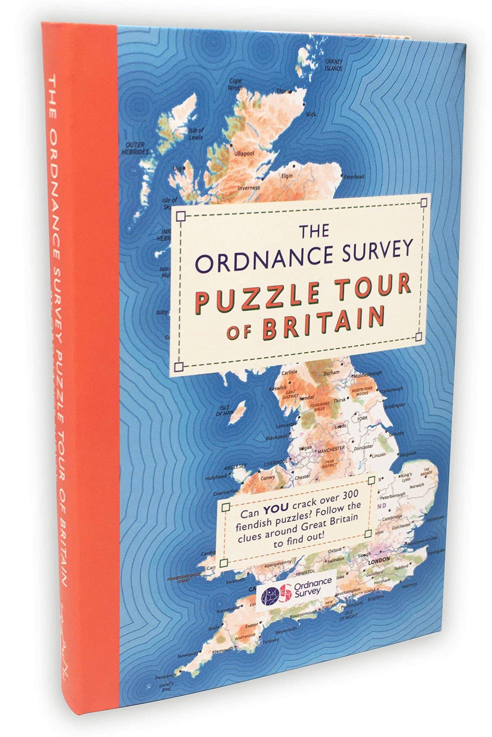 The Ordnance Survey Puzzle Tour of Britain 9781409184713  Ordnance Survey   Landeninformatie Groot-Brittannië