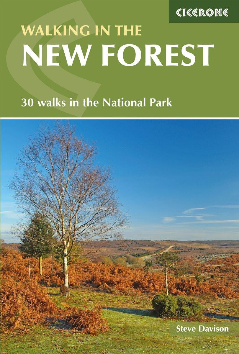 Walking in the New Forest 9781852848774 Davison Cicerone   Wandelgidsen Zuidoost-Engeland, Kent, Sussex, Isle of Wight